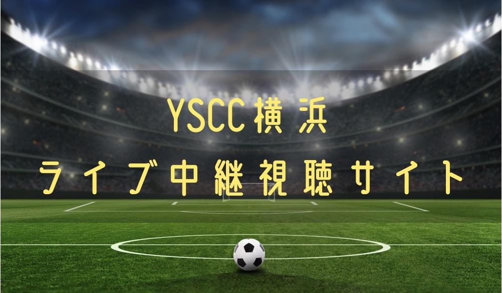 YSCC横浜の試合速報をライブ中継動画で無料で観れるサイト紹介